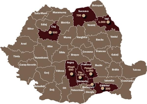 Harta Investitiilor Romania